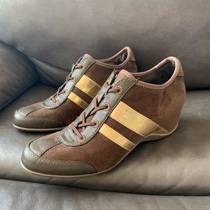 DKNY Wedged Sneaker